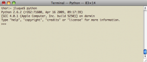 Intérprete Python